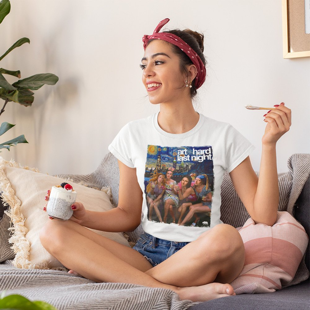 t-shirt-mockup-of-a-young-woman-having-a-healthy-dessert-at-home-32748